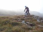 Abfahrt vom Stätzerhorn Richtung Alpstätz: leider fast komplett unfahrbar