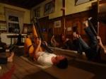 Yoga: das gewitzte Gürteltier