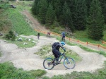 Kurs-Warm-Up im Pumptrack