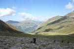 Gipfelstürmertour: hoher Schiebe- und Trageanteil