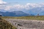 Parpaner Rothorn: Wanderweg mit Panorama