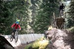 Dual-Action im Bikepark: Shoreline